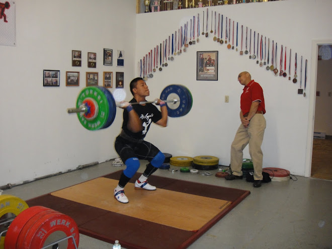 Carlos Andica training with Coach Ivan at Risto Sports