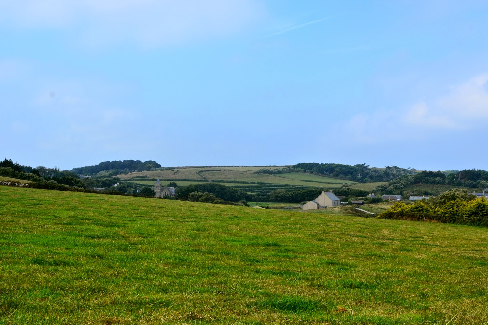 View of Old Grimsby village on Tresco