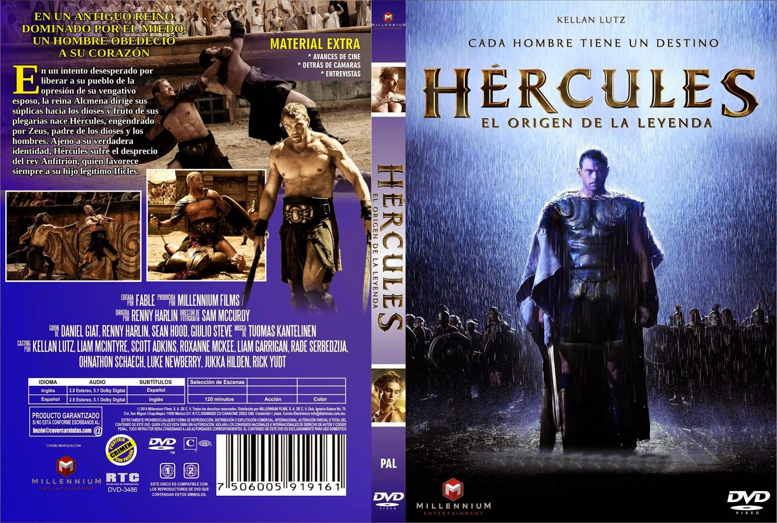 Hercules El Origen De La Leyenda DVD
