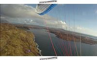 Paragliding Sky Road, Clifden, Írsko