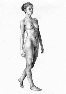 Mujeres Dibujos Lapiz Imagene
