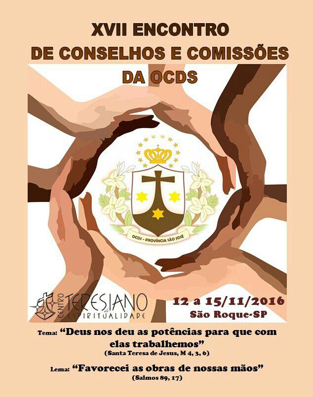 XVII ENCONTRO DE CONSELHOS E COMISSÕES DA OCDS