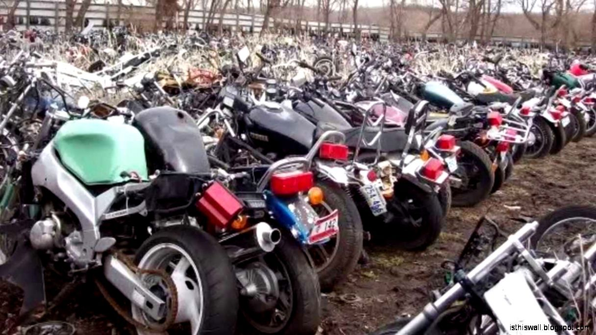 Motorcycle salvage yards this wallpapers for Motor cycle junk yard