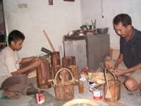 Peluang Bisnis Kerajinan Unik Paralon Bakar Dari Sukabumi