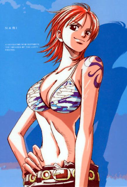 Anime Nami hot One Piece HD Wallpaper - Naruto and bleach anime wallpapers