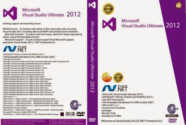 Microsoft Visual Studio DVD Capa