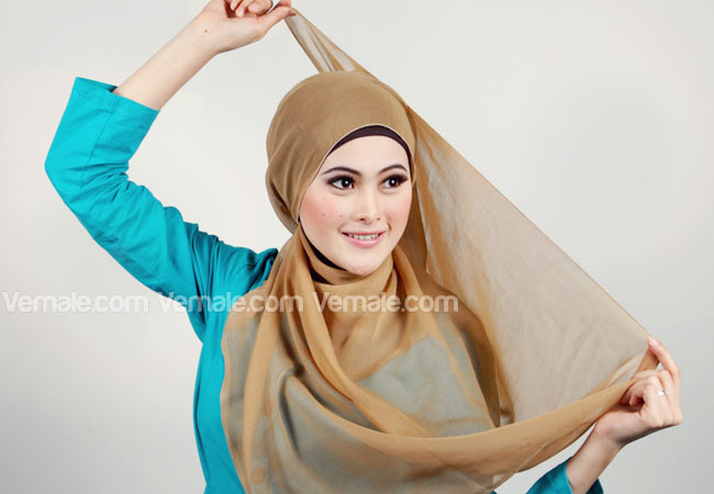Tutorial Hijab Modern Turban Terbaru 2016 | apexwallpapers.com