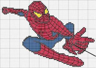 Imagens para bordados do homem-aranha