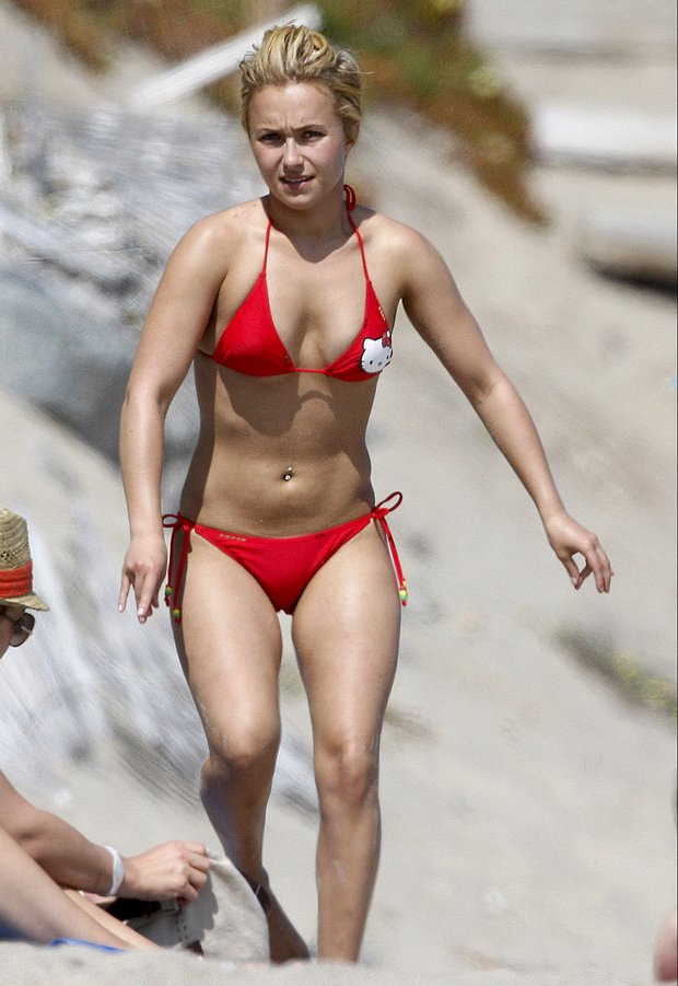 Hayden panettiere naked beach, hot pussy from the back