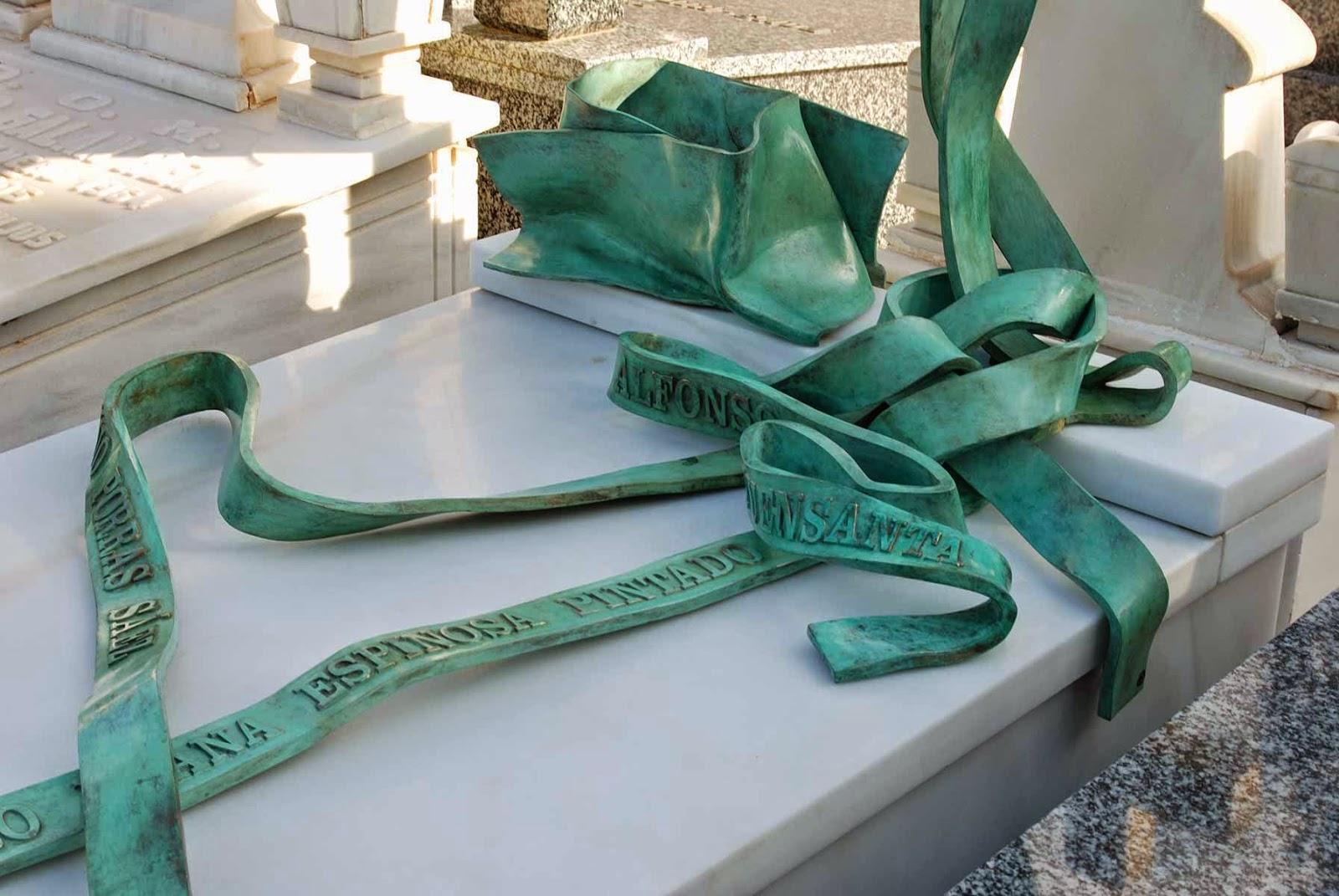 Monumento bronce cementerio Murcia Arturo Serra escultura 9