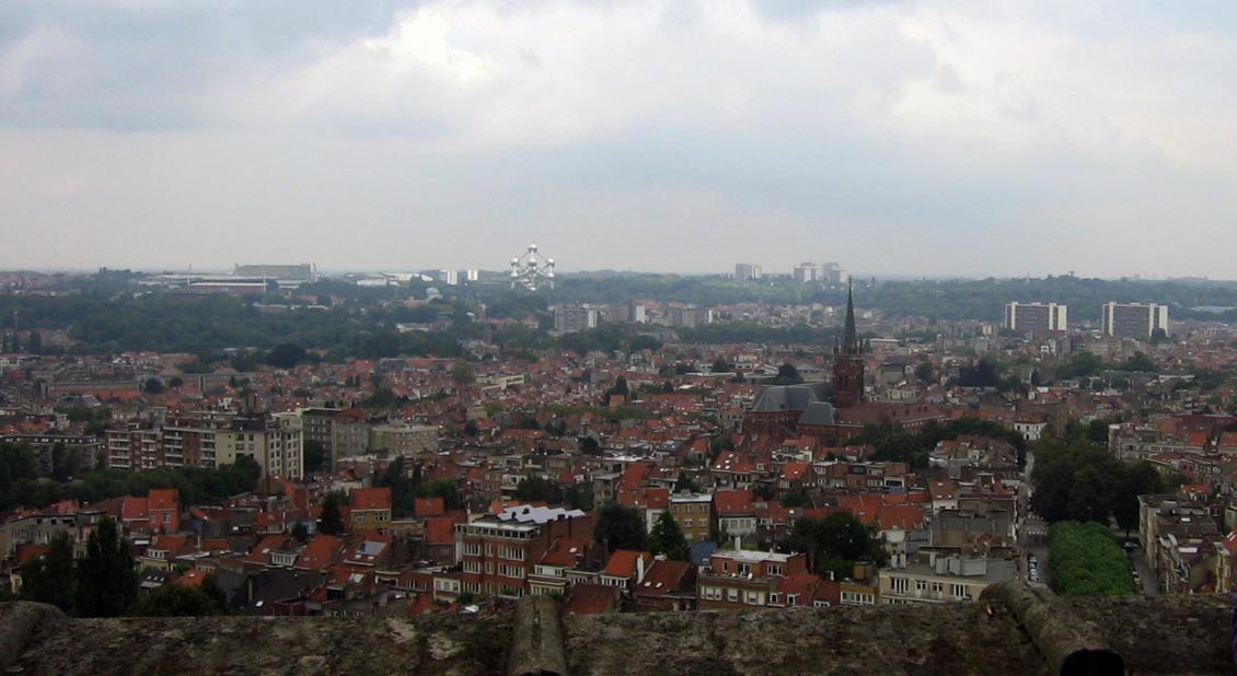 panorama Brukseli