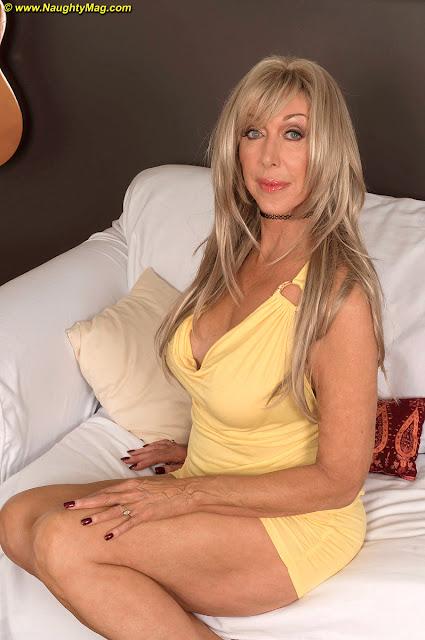 Plus Size Blonde Cougar