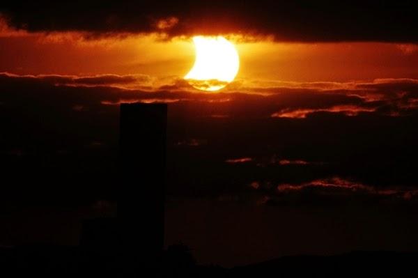 GALERI: Cantiknya Gerhana Matahari Sebagian 29 April 2014