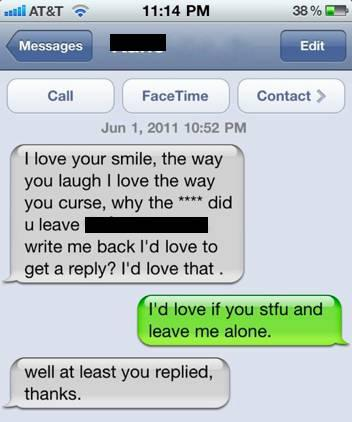 Love The Way You Reply Texts Too