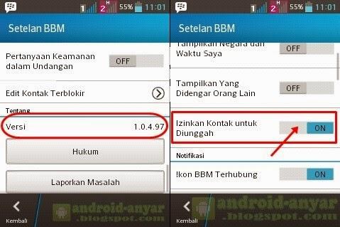 Free download official BBM for Android v.1.0.4.97 .apk Full Installer