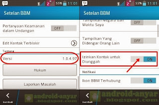 Free download official BBM for Android v.1.0.4.97 .apk Full Installer