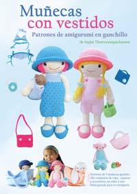 Muñecas con vestidos: Patrones de amigurumi en ganchillo (Amazon.com)