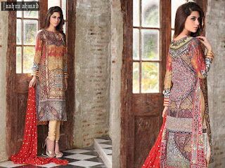 Zahra Ahmad Lawn Collection 2015