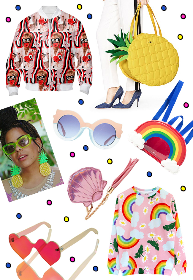 shopping wish list, friday favourites, tropical fashion