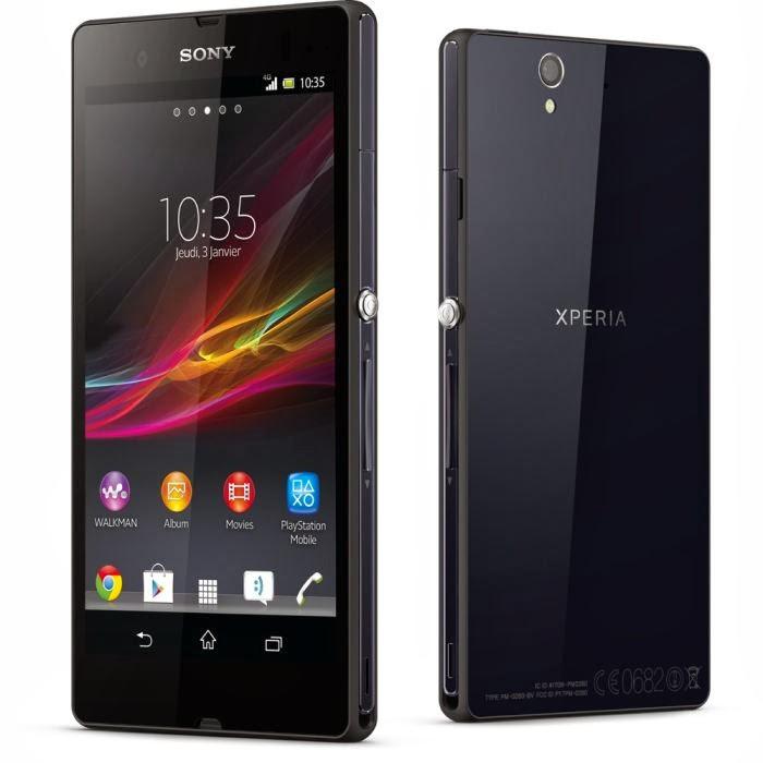 Sony Xperia Z Noir comparatif smartphone