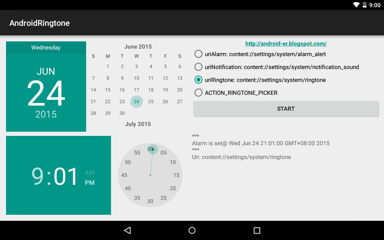 Android-er: AlarmManager trigger BroadcastReceiver, then start