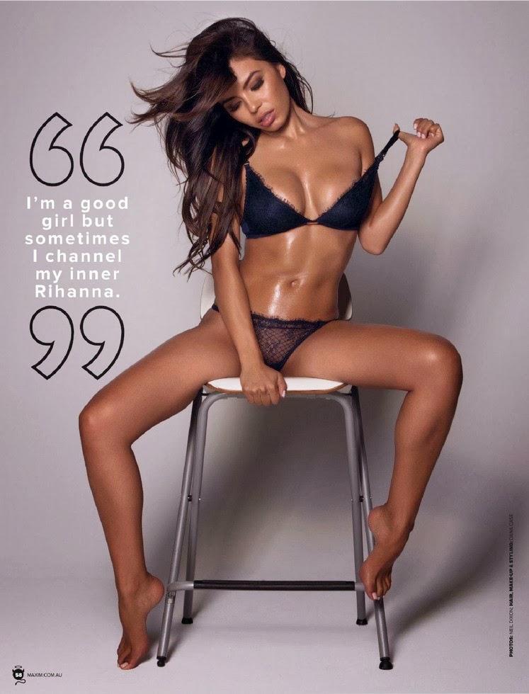 Kerry Washington Maxim Australia Magazine July 2013