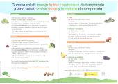 Sobre el consumo de frutas y hortalizas..