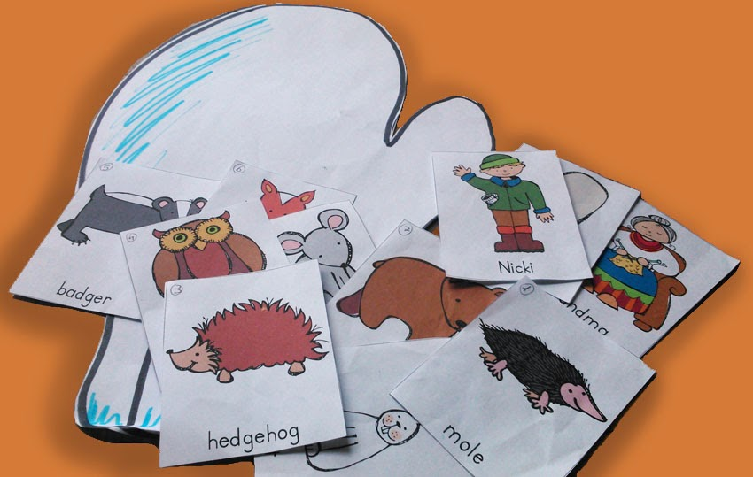 The Mitten Characters Printables | Search Results | Calendar 2015