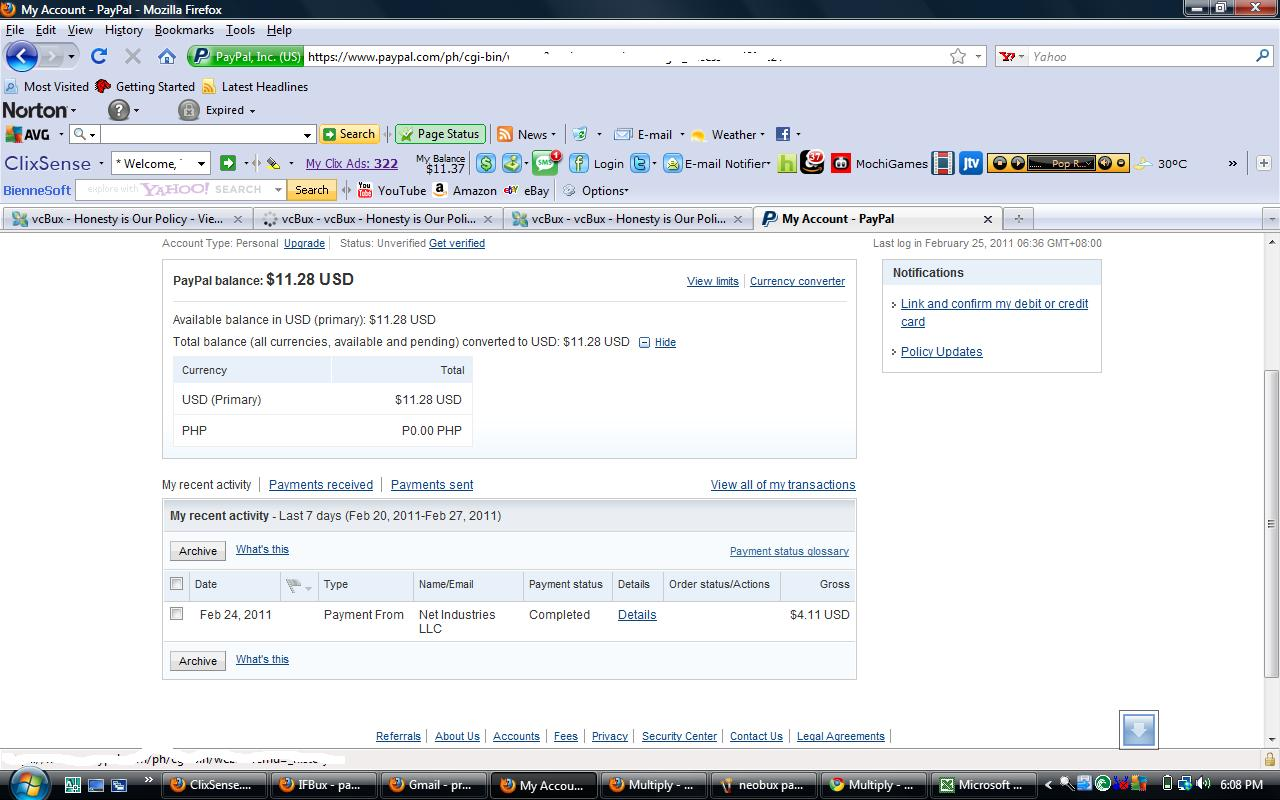 paypal online 24 ag