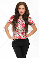 Bluza LaDonna Brave Flowers Red (LaDonna)