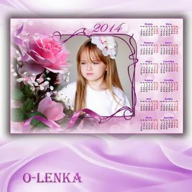 calendario flores 2014