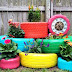 How To Recycle Old Car Tires With Good Creative Crafts !