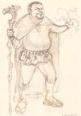 wizard character (fantasy art)