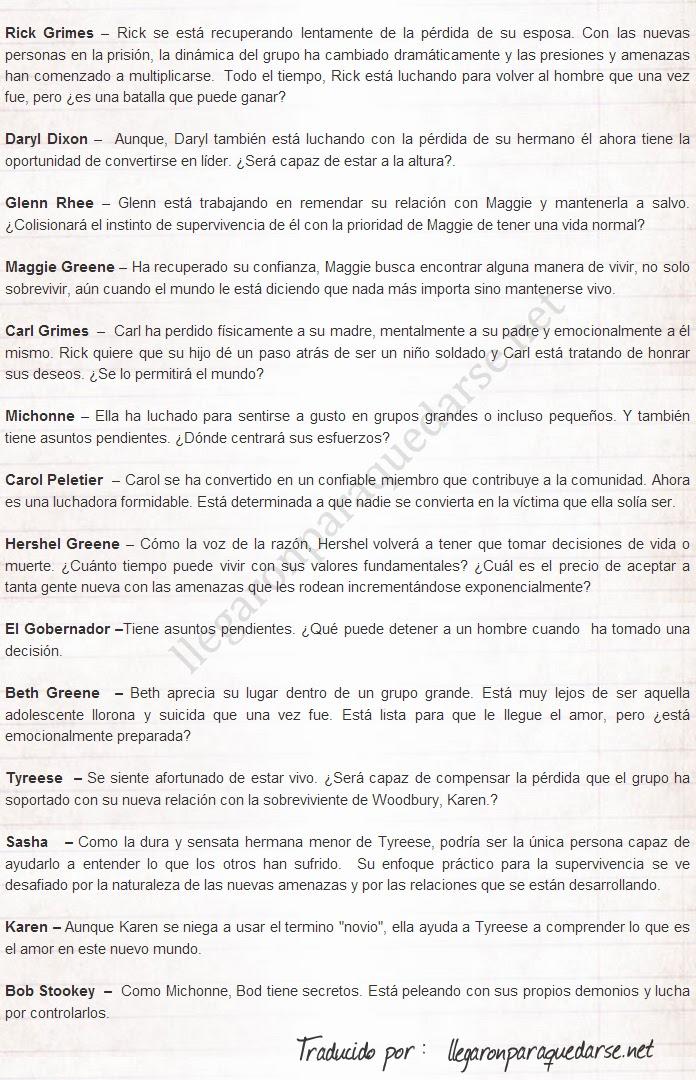 The Walking Dead: Descripción oficial de los personajes en la cuarta temporada Sin+t%C3%ADtulo-4