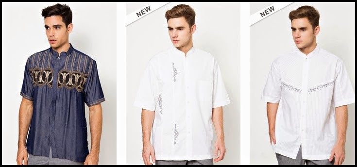 Tren baju lebaran masa kini tahun 2015 untuk pria dan wanita