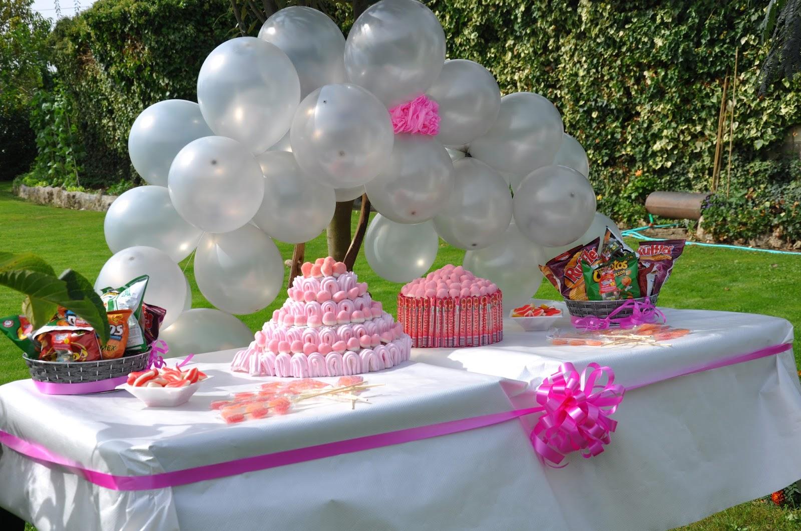Decoracion Al Aire Libre De Fiestas Infantiles ~ un buen momento el cumplea?os de marta fue un exito mesa de canapes y
