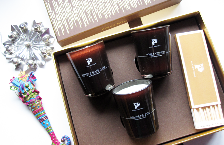 Pinks Boutique Petite Candle Collection