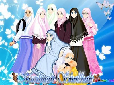 Koleksi Walpaper dan Gambar Kartun Muslim