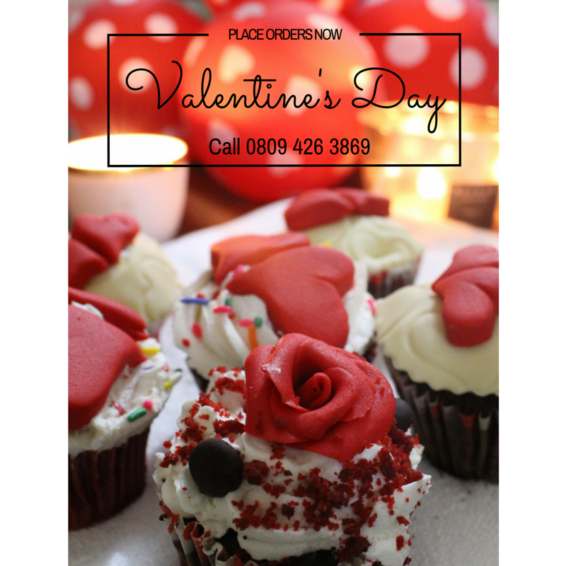 VALENTINE CAKES AND CUPCAKES