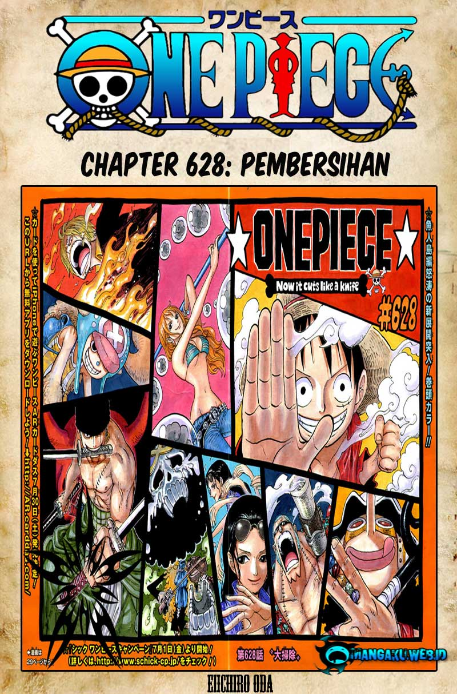 01 One Piece 628   Pembersihan
