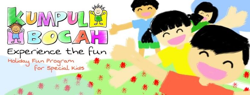 Kumpul Bocah ( Holiday Fun Program for Special Kids )