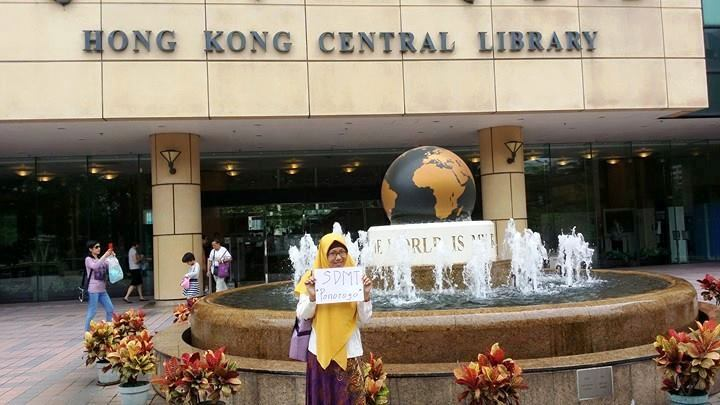 SDMT di Hongkong Central Library