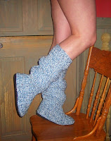 Crocheted Boots Pattern1
