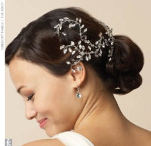 wedding hair pieces with feathers