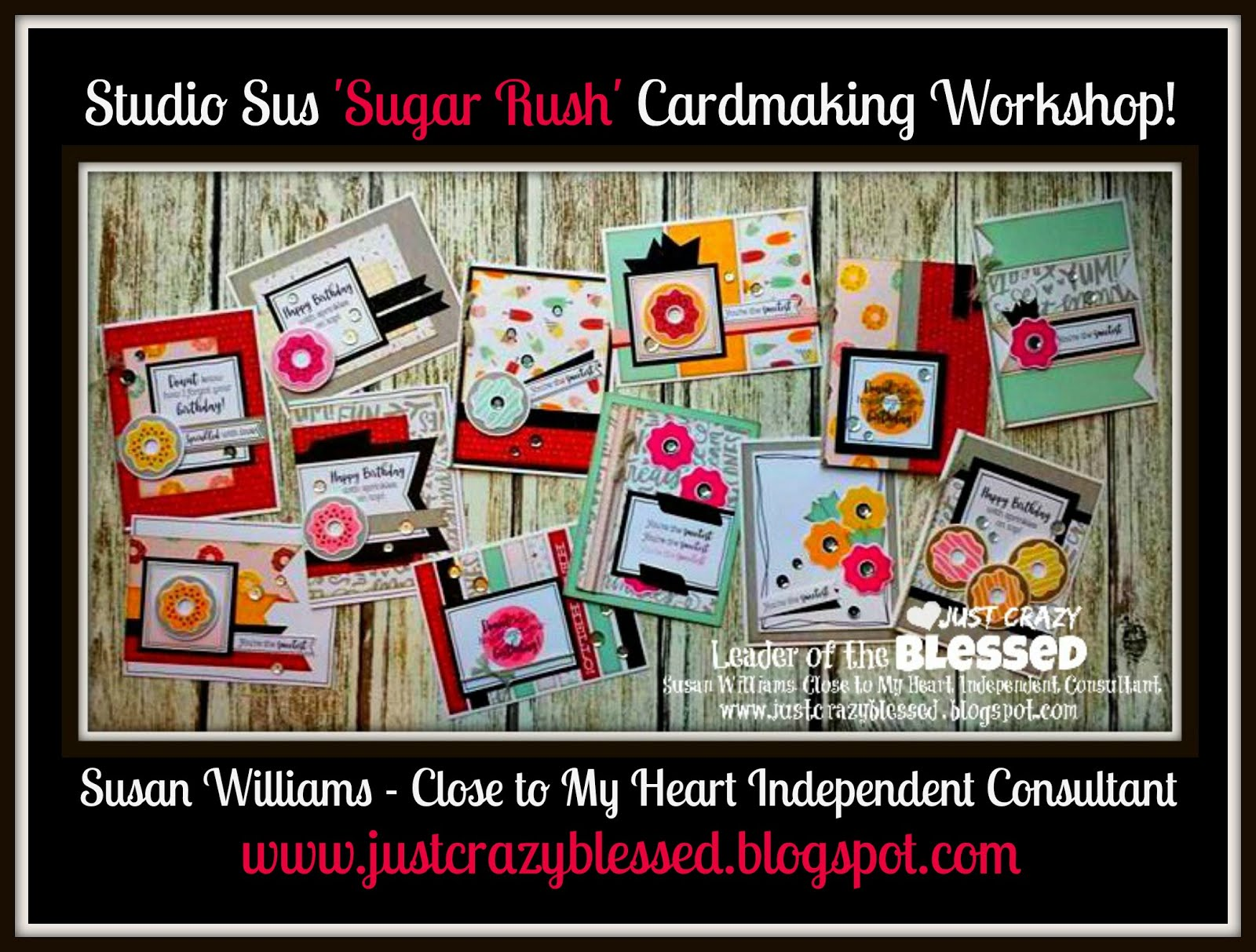 'Sugar Rush' Cardmaking Workshop!