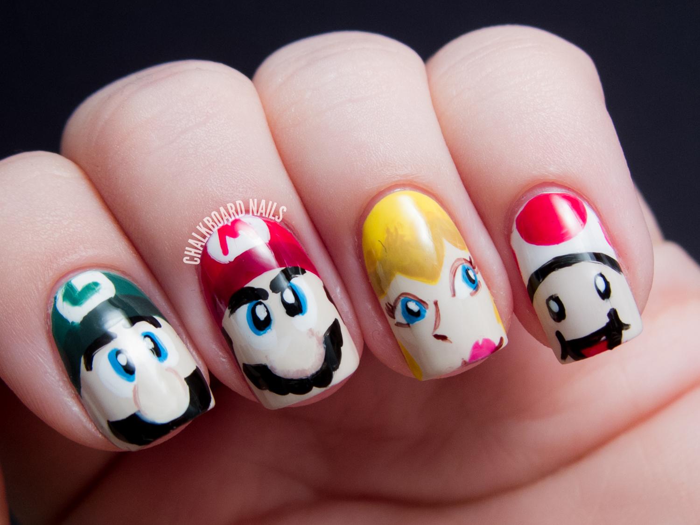 Nail Art Ideas » Nerdy Nail Art - Pictures of Nail Art Design Ideas