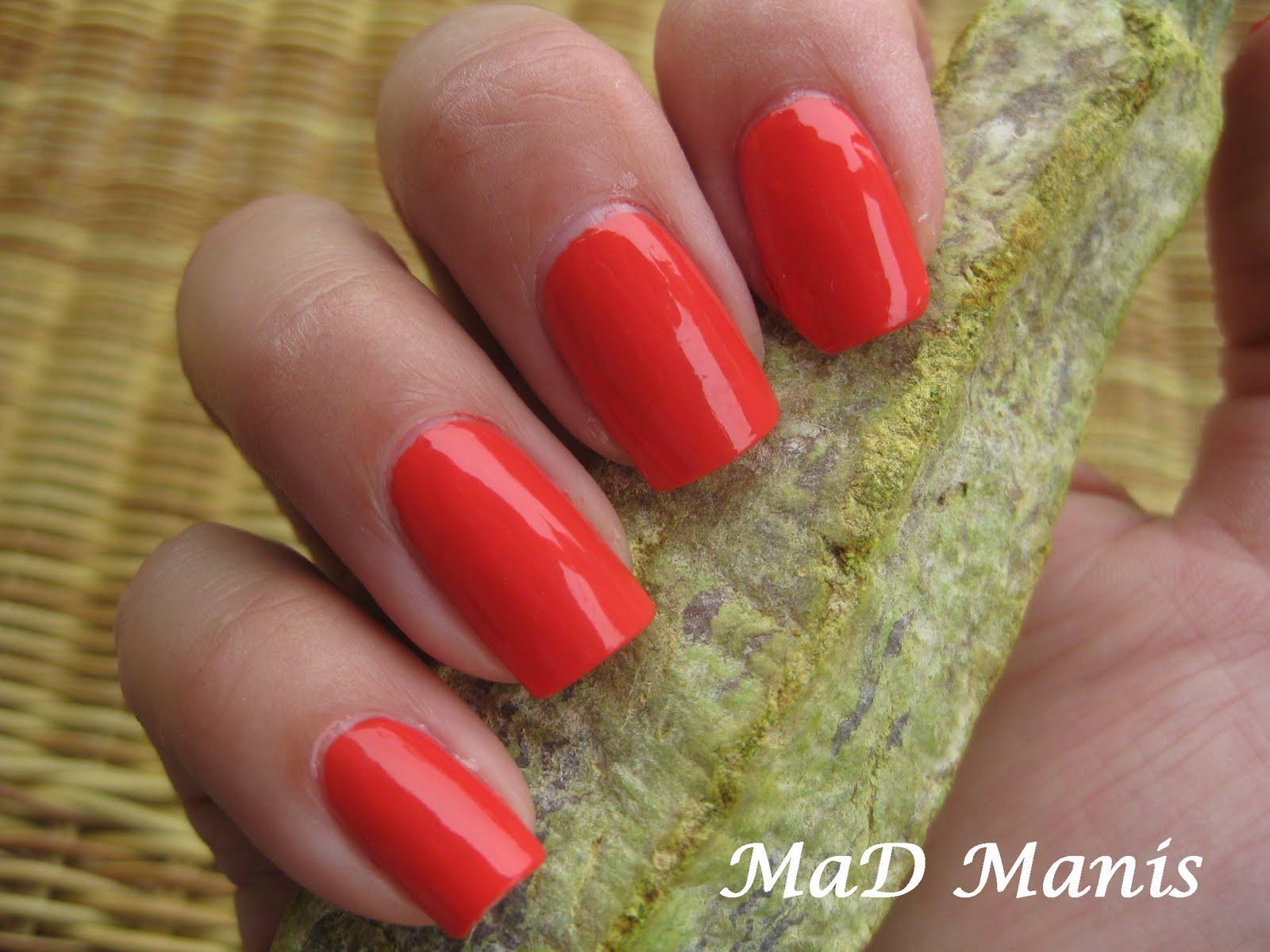 MaD Manis: Sally Hansen Kook A Mango