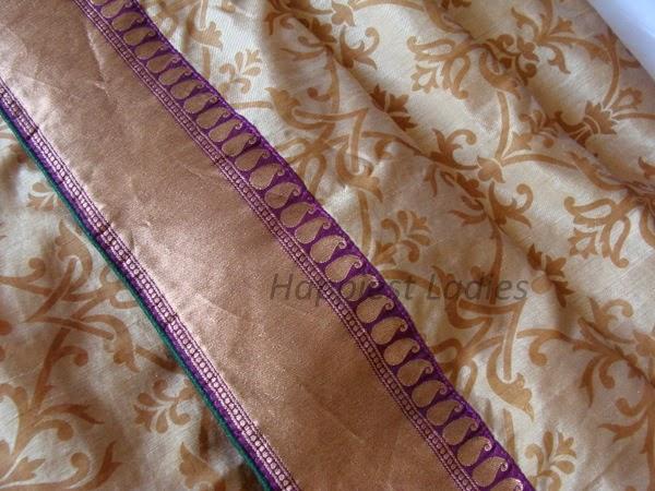 stitch your own saree