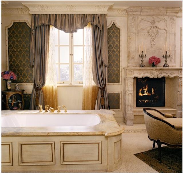 Tuscan bathroom design