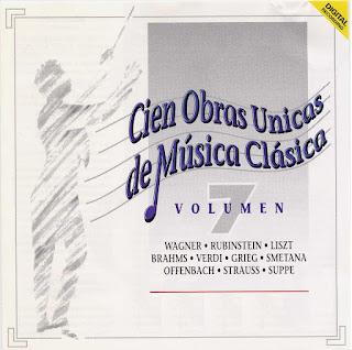 100 obras unicas de la musica clasica:
